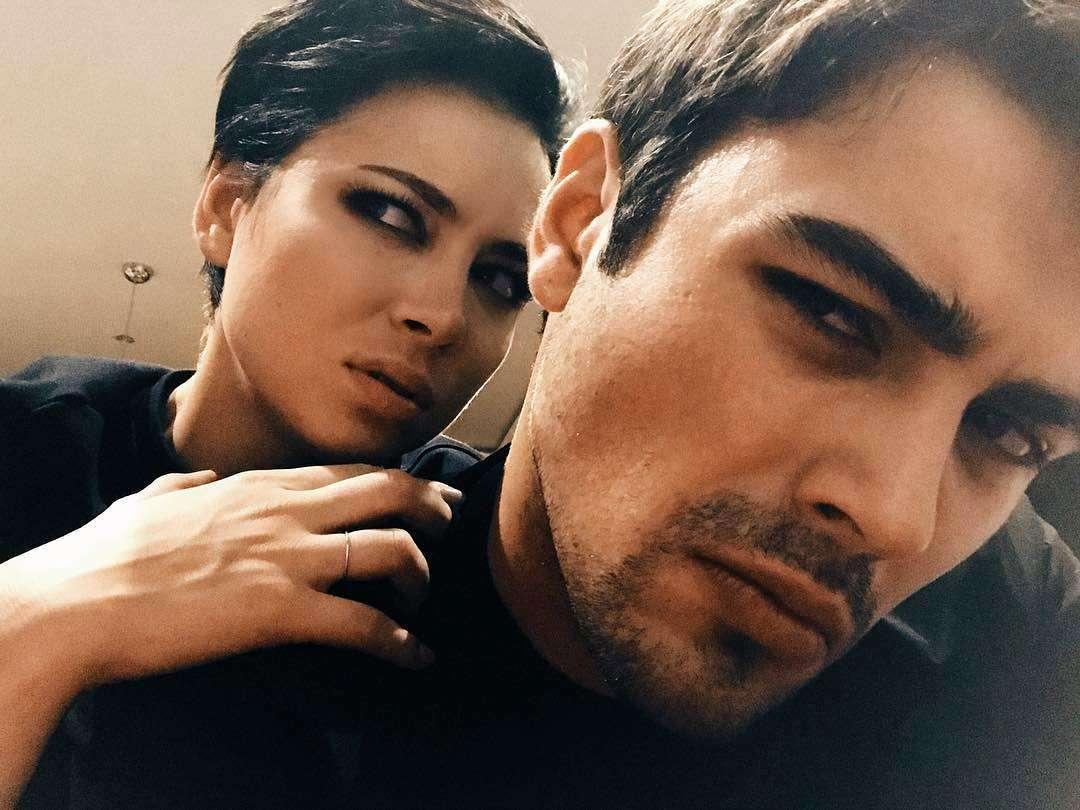 Самбурская и муж Кирилл Дыцевич