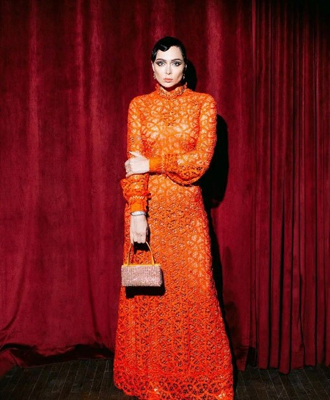 Оранжевый стиль